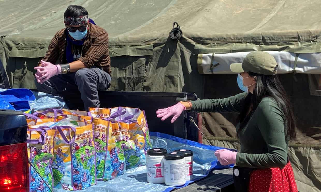 Irish Citizens Support COVID-19 Relief Efforts for Native American Tribes
