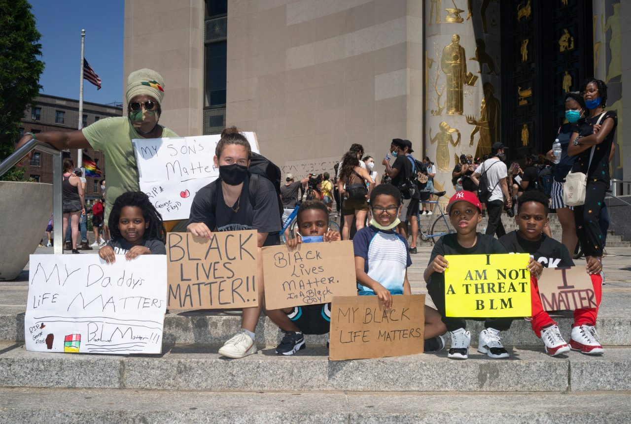 Children's Leadership at Racial Justice Demonstrations